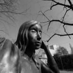 Statue Ch. Galiffe B&W